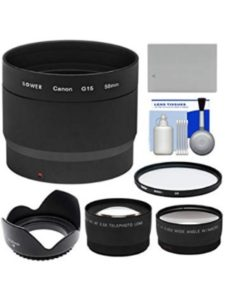 adapter canon  wide angle lenses