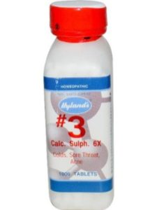 Hylands (Standard Homeopathic) calc sulph  tissue salts