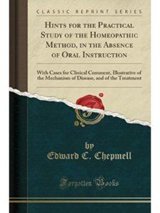 Edward C Chepmell hindi book  homeopathic medicines