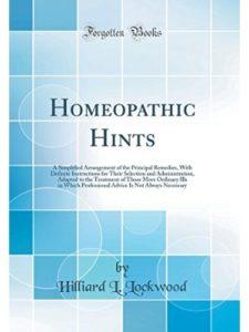 Hilliard L Lockwood hindi book  homeopathic medicines