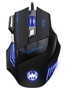 light  gaming mice