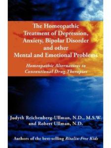 Judyth Reichenberg-Ullman anxiety  homeopathic medicines