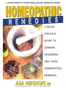 Asa Hershoff guide  homeopathic medicines