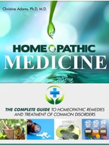 Christine Adams M.D. Ph.D guide  homeopathic medicines