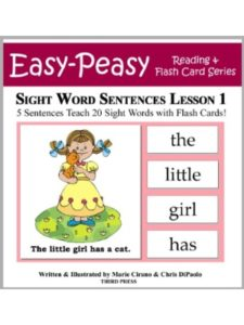 Third Press kindergarten  reading lists