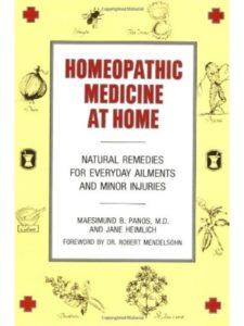 Maesimund B. Panos materia medica  homeopathic medicines